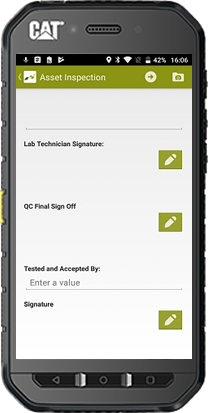 Empty Multiple Signature Fields