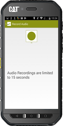 Stop Recording Audio